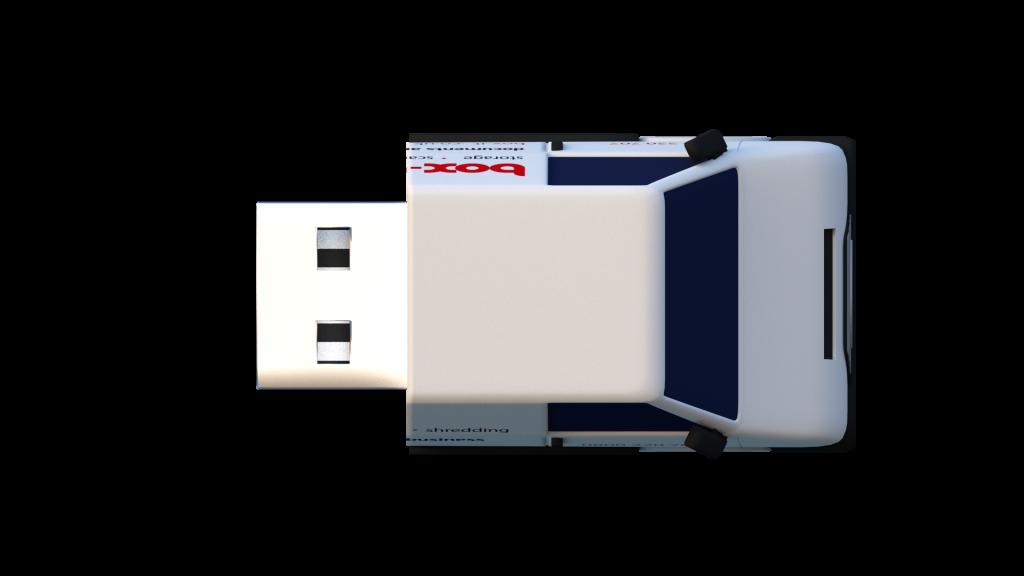 Bespoke USB Product Render