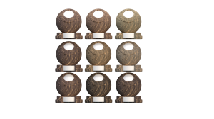 Wood grain with random values