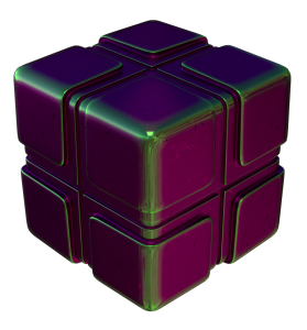 procedural copper nodes pointiness example