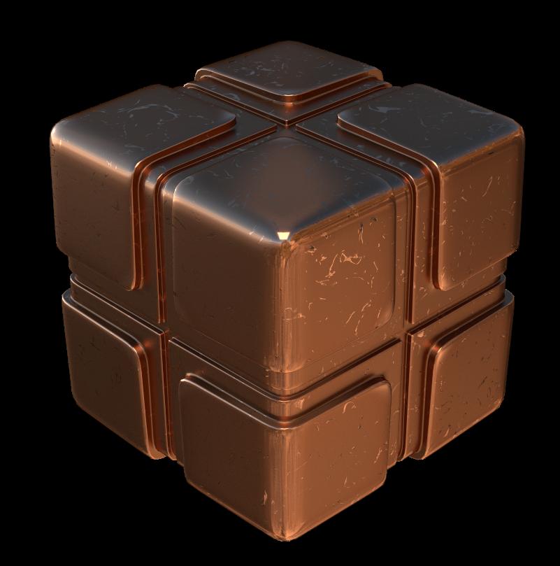 procedural copper nodes